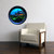 Round Window - The Temple at Night -  Vinyl Wall Decal