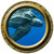 Leatherback Turtle Porthole Wall Decal
