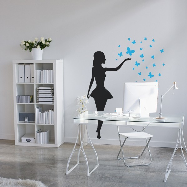 Releasing Butterflies Wall Decals