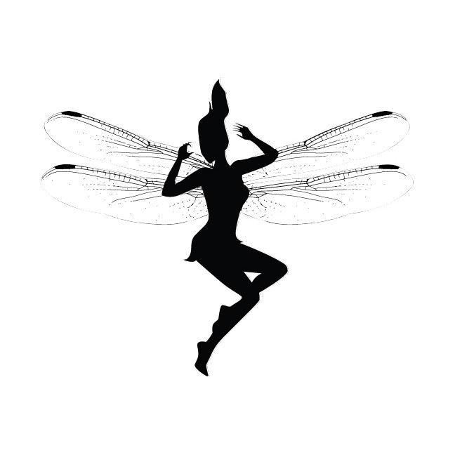 4 Fairy Wall Decal Set