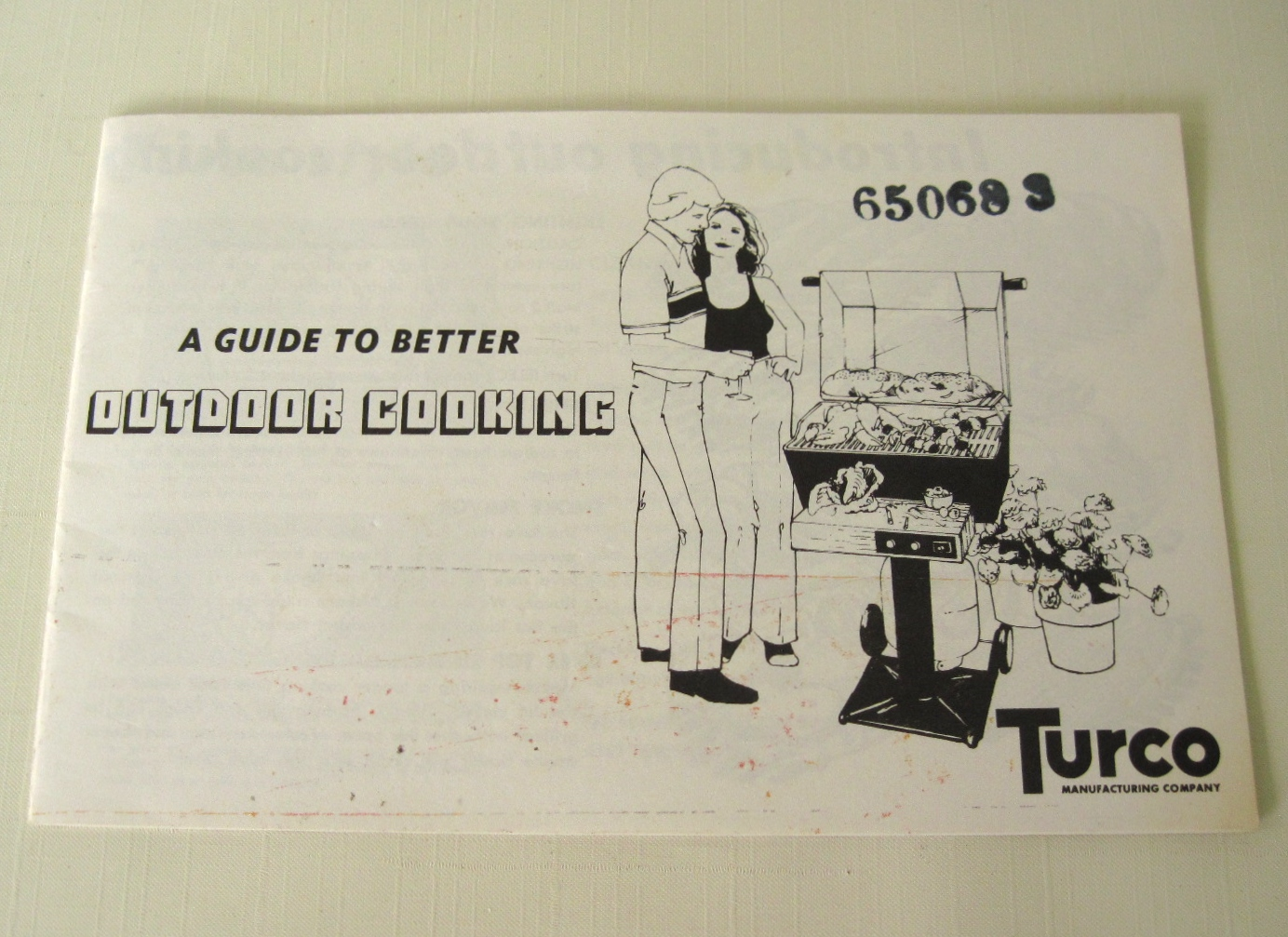Vintage Turco BBQ Grill Instruction Manual by ...