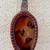 Red Vintage Spoon Necklace