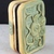 Squiggly Green and Gold Polymer Clay Trinket Box