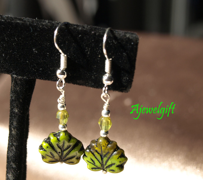 Fall Leaf Earrings 13001