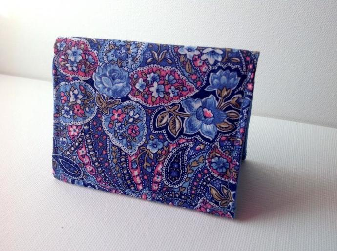 Mini wallet, credit card holder,business card holder,fabric wallet