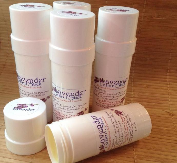 Lavender- Lotion stick- Handmade,homemade,all natural