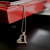 Sterling Silver  925 Vintage Necklace with Heart Pendant