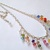 Rainbow Necklace Color Carnival Swarovski