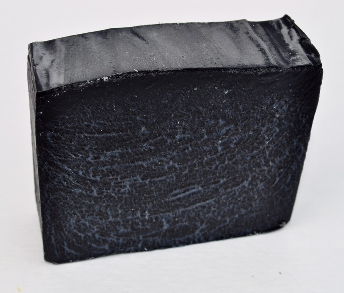 Activated Charcoal Soap Vegan,Unscented,Cold Process, all
