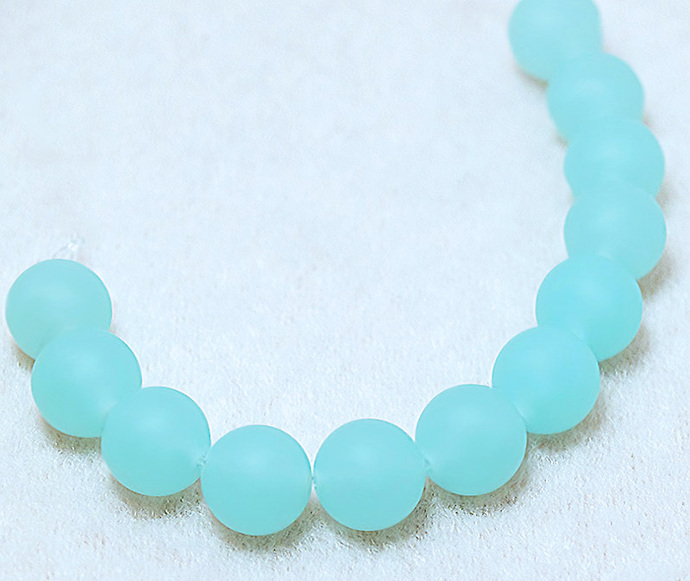 Sea Spray- recycled sea glass beads