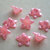 Lucite Flower Beads, Medium Daisy, Pearl Pink, 8
