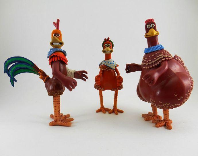 Vintage Chicken Toys
