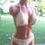 Handmade Crochet Bikini, Classic Women Boy Shorts Bikini by Vikni Designs