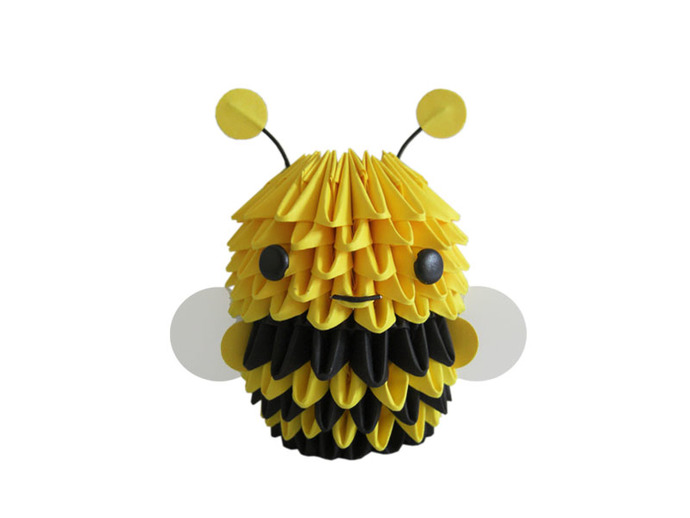 3D Origami Bumblebee By Espressions On Zibbet