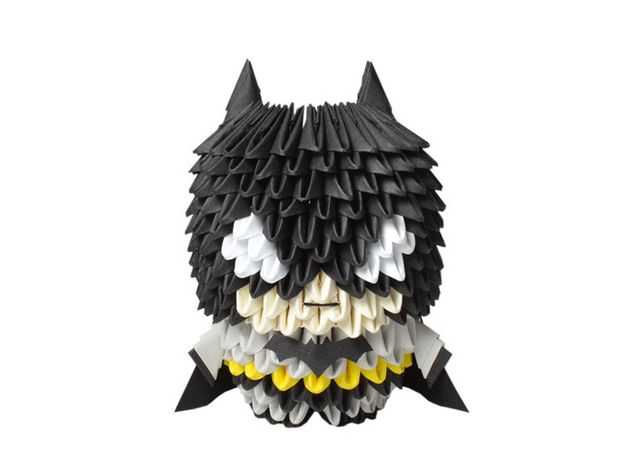 3d Origami Batman By Espressions On Zibbet