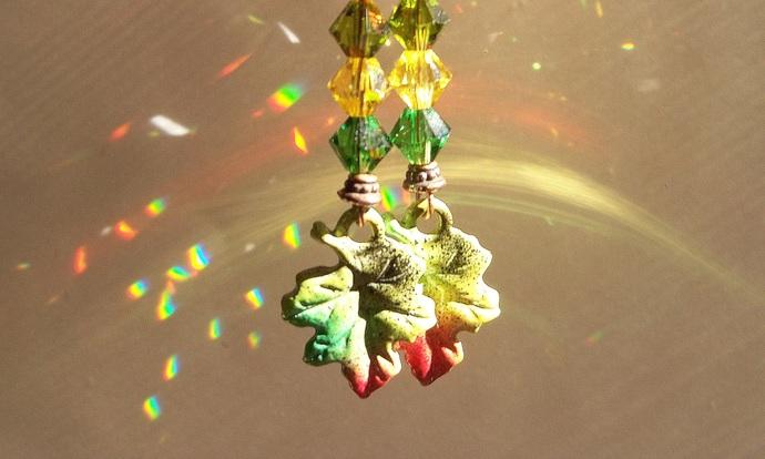 Earrings Autumn Leaves