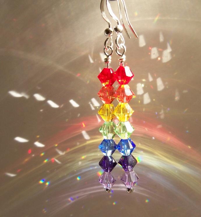 """Rainbow"" Earrings"