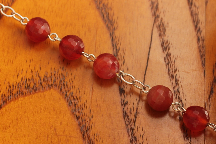 Carnelian Goddess bracelet maiden