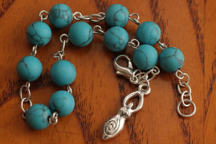 Turquoise Goddess bracelet maiden