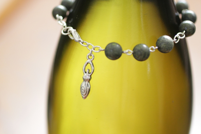Serpentine Goddess bracelet maiden