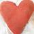 Orange Grungy Heart