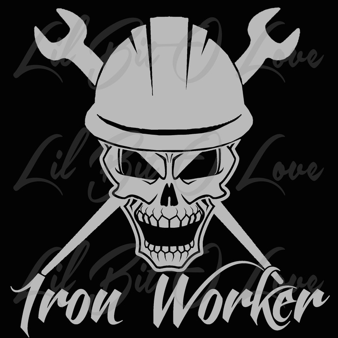 Iron Worker Skull And Cross Spud Wrenches By Lilbitolove