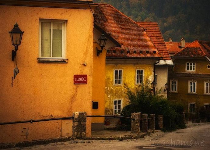 "Sejmisce 5 x 7"" print, fine art photography, Slovenia scene"