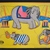 Vintage Frame Tray Childrens Puzzle FURRY Elephants Circus