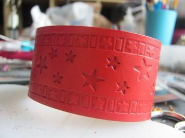 Bracelet/Cuff with Stars