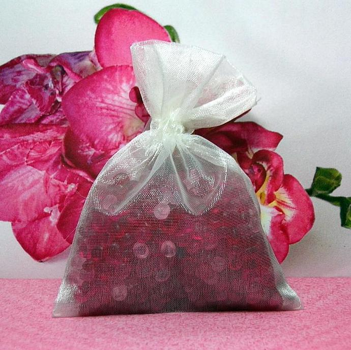 Freesia Aroma Bead Sachets (Set of 2)  GREAT IN THE CAR Air Freshener