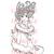 Sally Stardust digital stamp