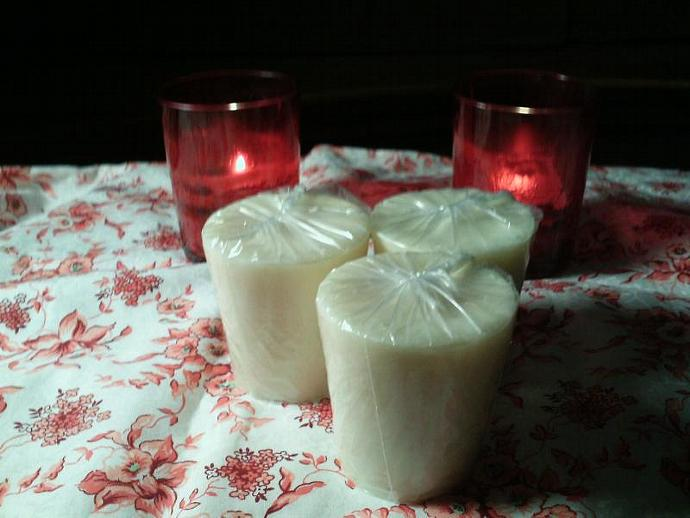Votive-1.75 each or buy 6 get  7th free.