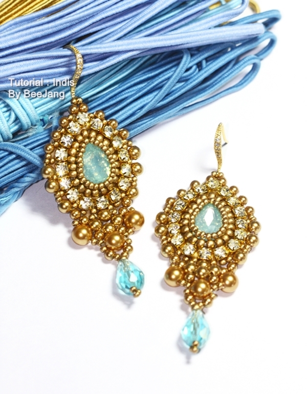 Tutorial : Indis Earrings