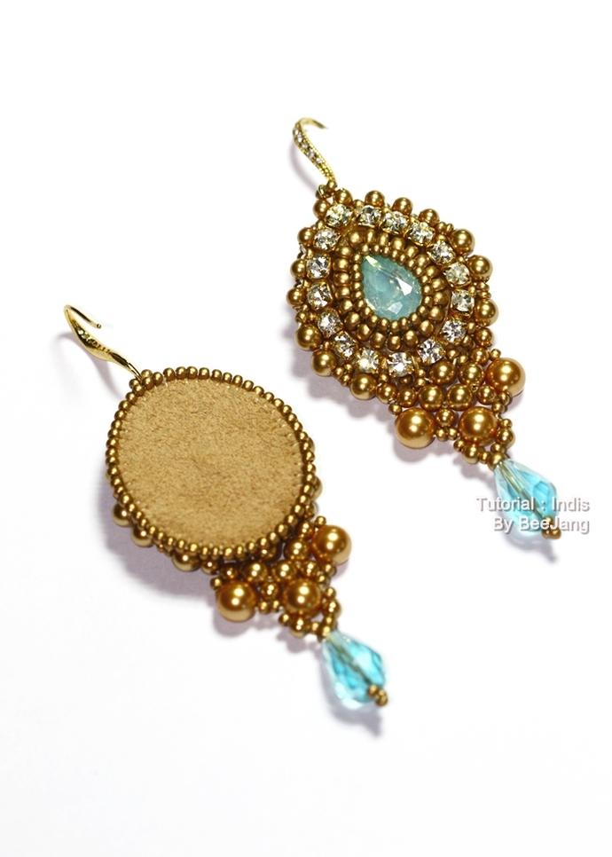 Tutorial : Indis Earrings