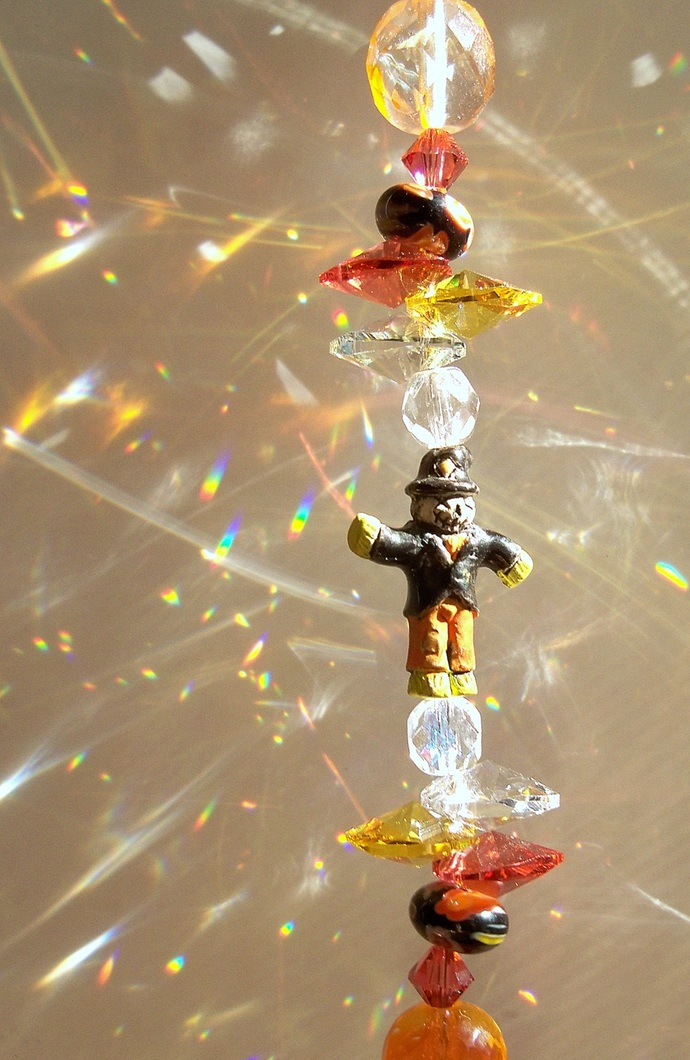 Sun Catcher Scarecrow