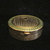 Vintage Djer Kiss Compact 1910s Powder Rouge Mirror Gold Enamel Compact RARE