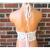 Festival Crochet Top, Nude Tan Blend Halter Top by Vikni