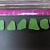Genuine Green Beach Glass From Hawaii 6 Small Pieces