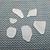 Genuine White Sea Glass Mixed Sizes 6 Pieces