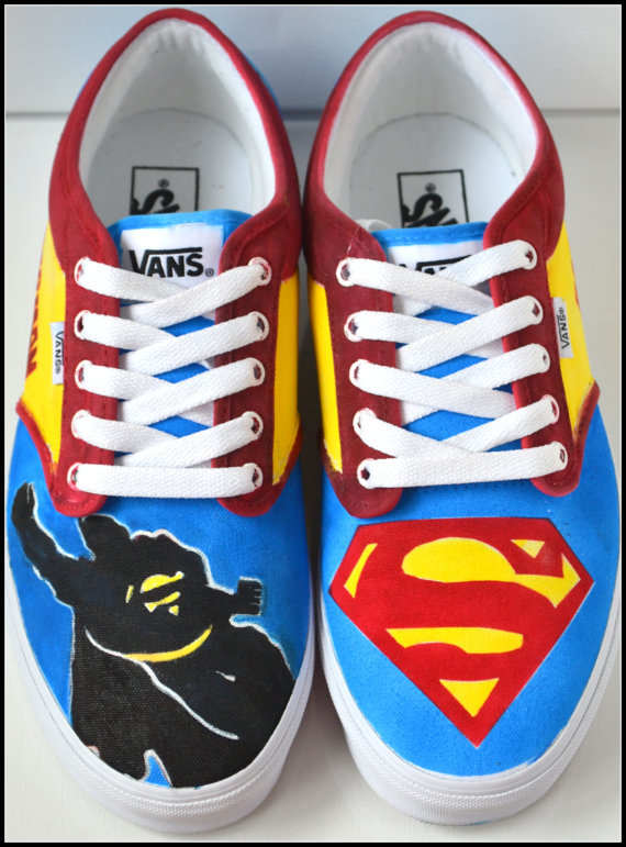 Batman Vans Shoes For Sale