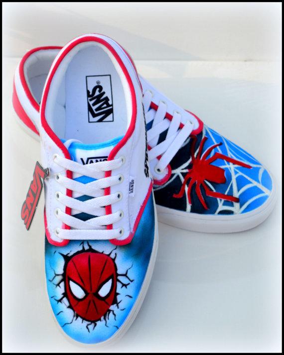 80c6145d9a6d Spiderman Vans