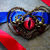 Custom - Alice Returns To Madness - Steampunk Gothic - Choker Necklace -  Red