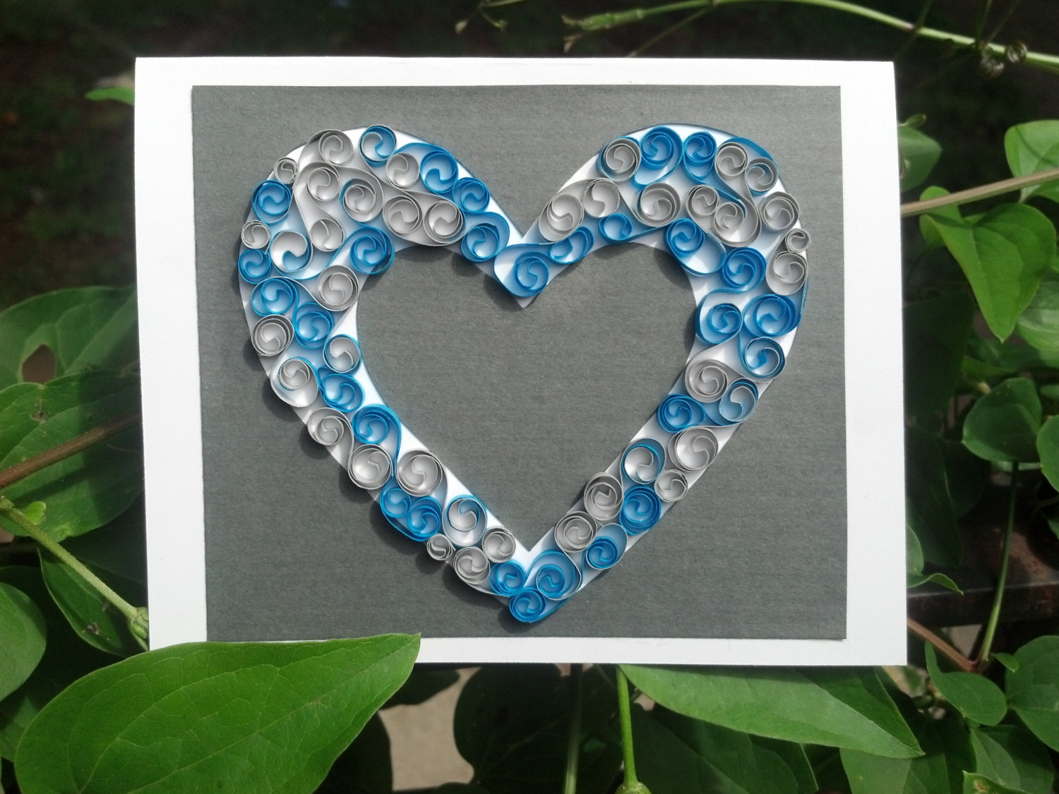 Custom cards quilled greeting cards by sweethearts and crafts on kristyandbryce Images