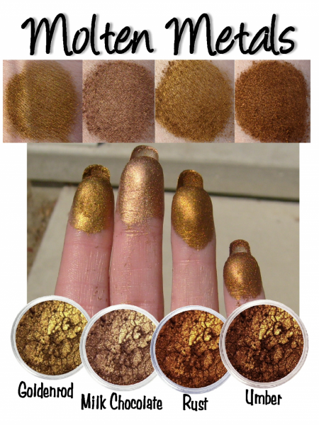 Molten Metals Mineral Eye Shadow Collection