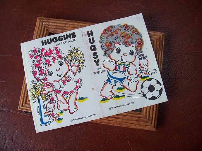 Vintage Hallmark Huggins  and  Hugsy Postcards