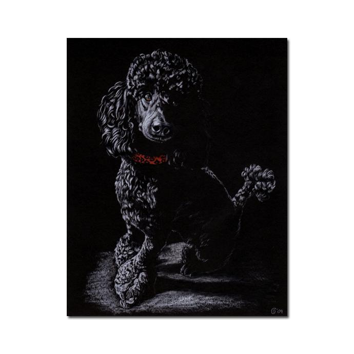 "8x10"" COMMISSION PET Custom PORTRAIT Sandrine Curtiss Original Art animal"