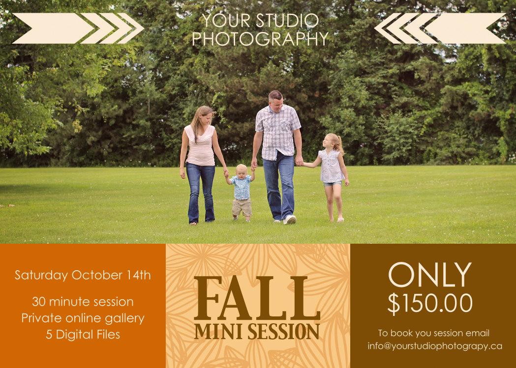 Mini Session Fall Mini Session Fall By SugarPickle Designs On Zibbet
