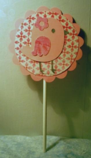 Lil Birdie Cake Topper