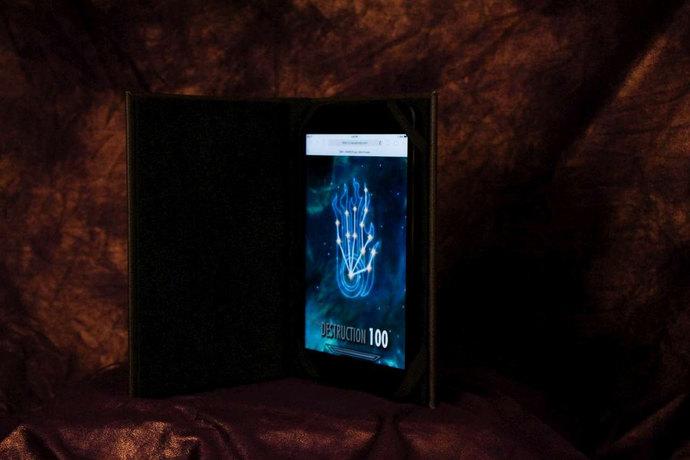 Dovahkiin / Dragonborn's Skyrim Destruction Tome - eReader / Tablet Cover -