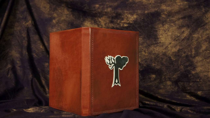 Dovahkiin / Dragonborn's Skyrim Alteration Tome - eReader / Tablet Cover -